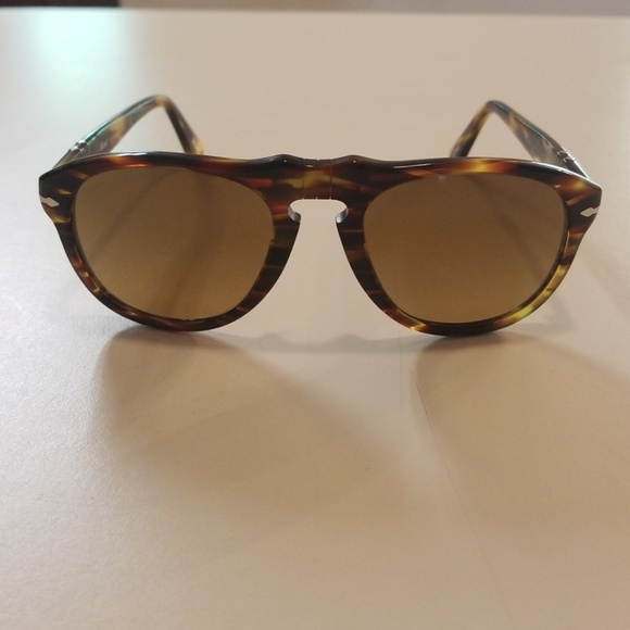 ad5c58ed6bb87 Brand new Iconic Persol 649 coffee color 52mm